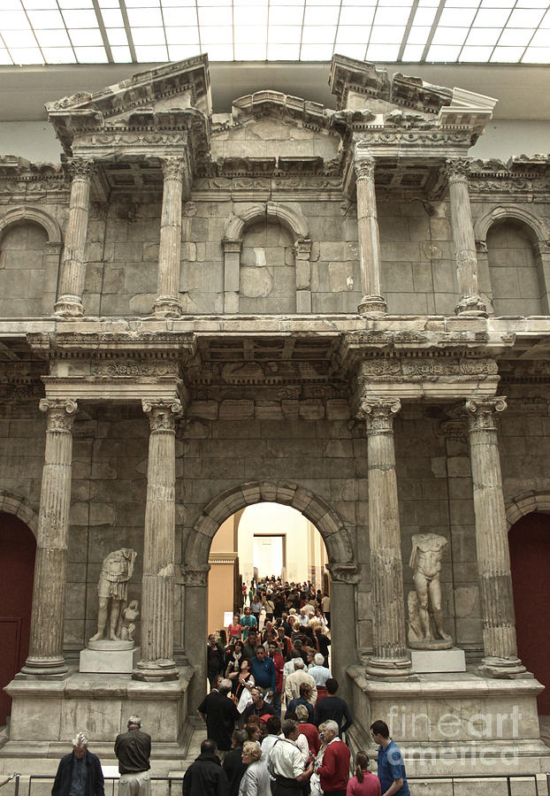 Berlin Photograph - Berlin - Pergamon Museum - No.02 by Gregory Dyer