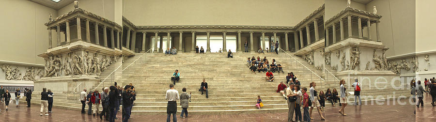 Berlin Photograph - Berlin - Pergamon Museum - No.03 by Gregory Dyer