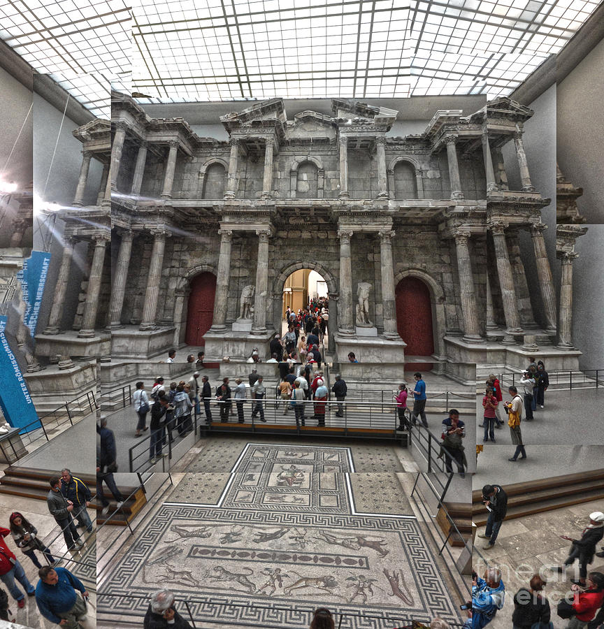 Berlin Photograph - Berlin - Pergamon Museum - No.05 by Gregory Dyer