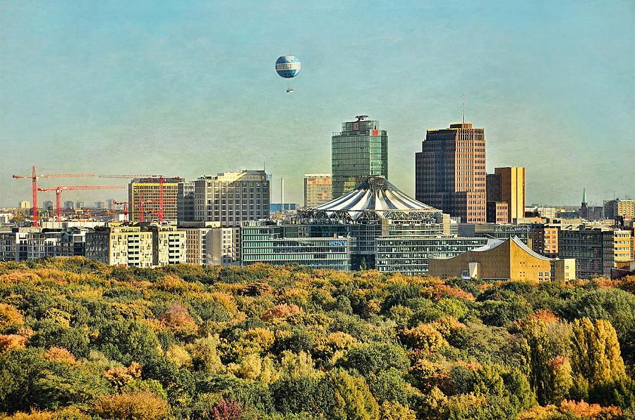 Autumn Photograph - Berlin / Potsdamer Platz / Autumn by Gynt