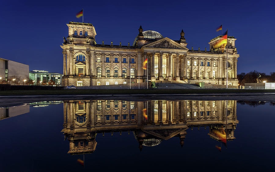 Berlin Reichstag -- Parliament Building Photograph by Fhm