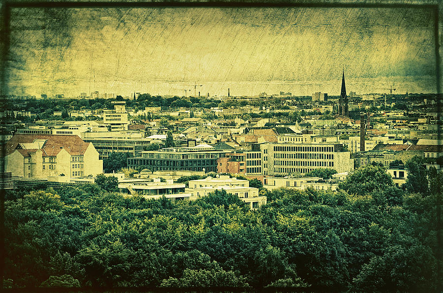 Church Photograph - Berlin - Stylized To Old by Gynt
