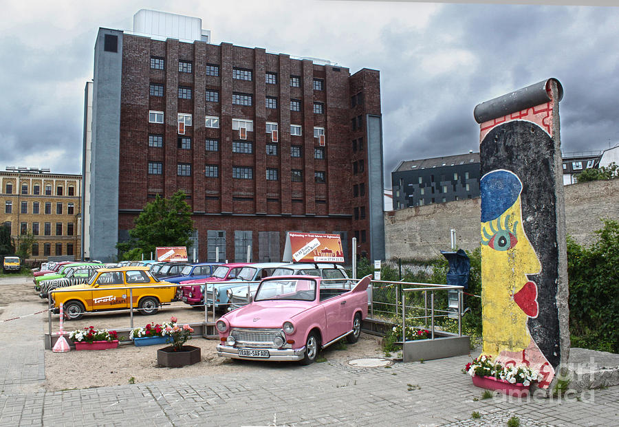 Berlin Photograph - Berlin - Trabi Safari - No.01 by Gregory Dyer