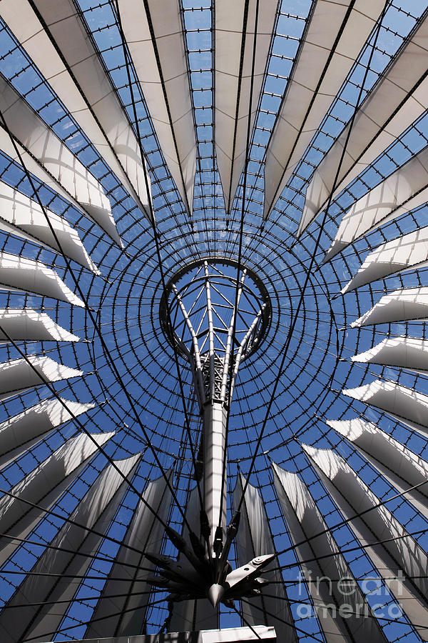 Berlin Sony Center Photograph - Berlin Wonders by John Rizzuto