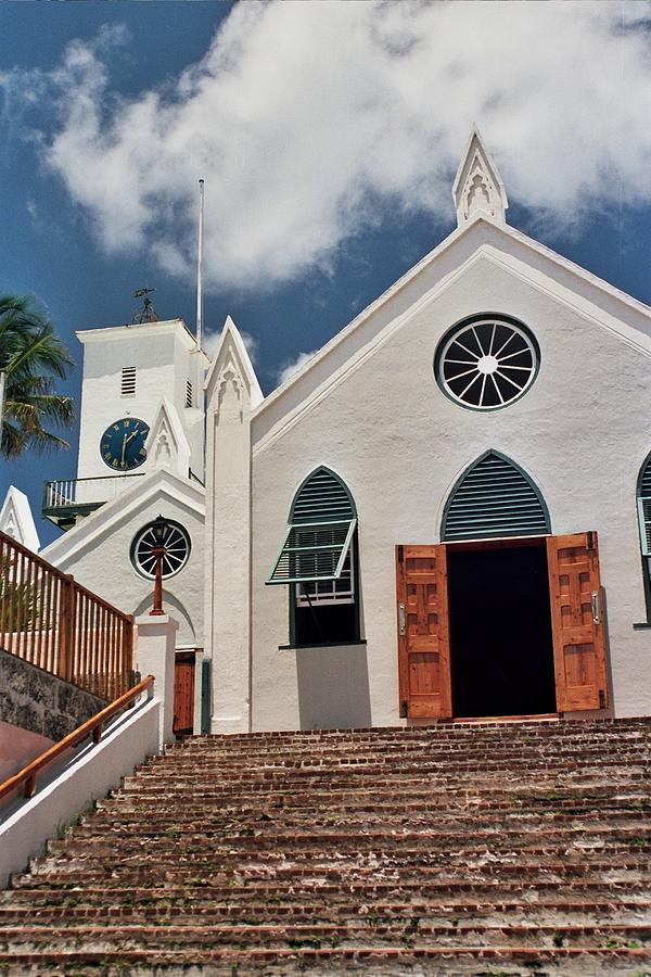 Bermuda Photograph - Bermuda Church by Allen Beatty