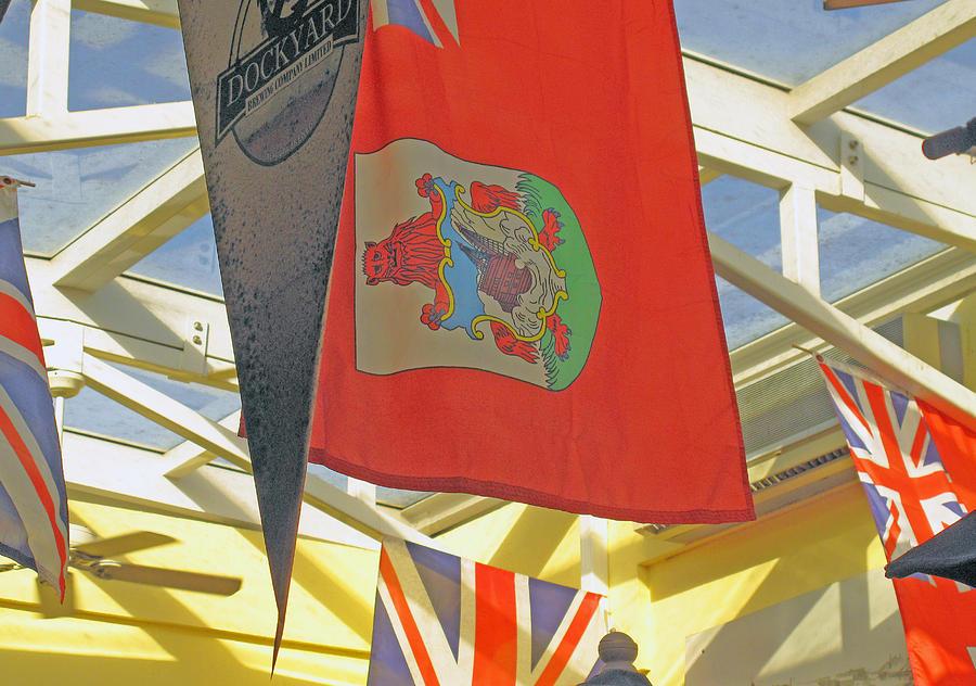 Bermuda Photograph - Bermuda Dockyard by Ian  MacDonald