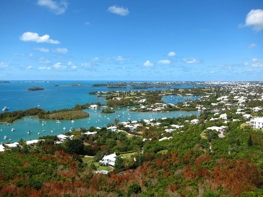 Bermuda Photograph - Bermuda From Gibbs Hill Lighthouse by Gordon Cain