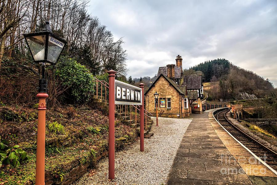 Arch Photograph - Berwyn Station by Adrian Evans