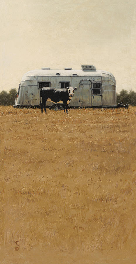 Bessie Wants To Travel by Ron Crabb