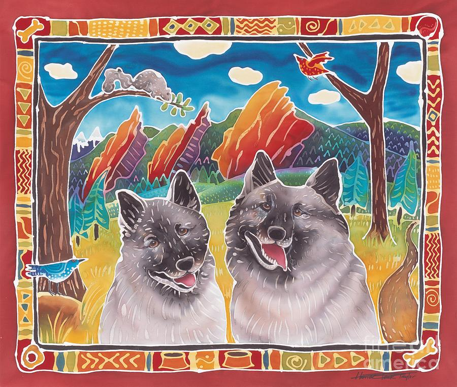 Dog Painting - Best Buddies by Harriet Peck Taylor