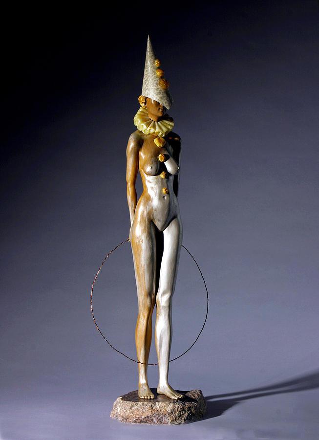 Nude Sculpture - Best Entertainer by Jacek Sumeradzki