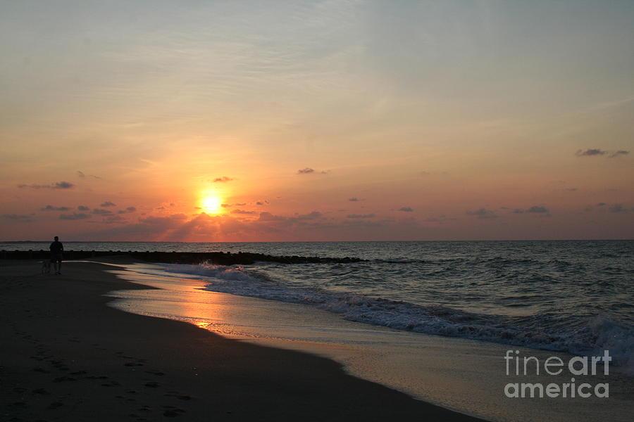 Sunset Photograph - Best Friends by Susan Meade