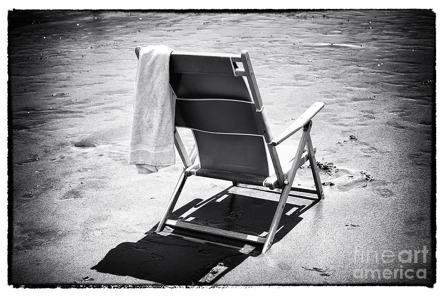 Sand Photograph - Best Seat by John Rizzuto