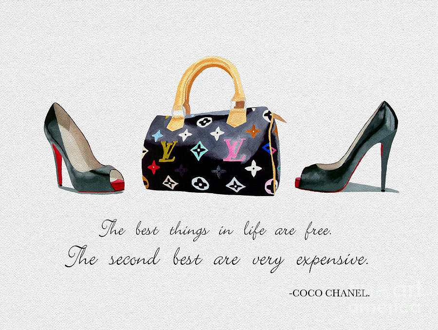 Christian Louboutin Mixed Media - Best Things In Life 4 by My Inspiration