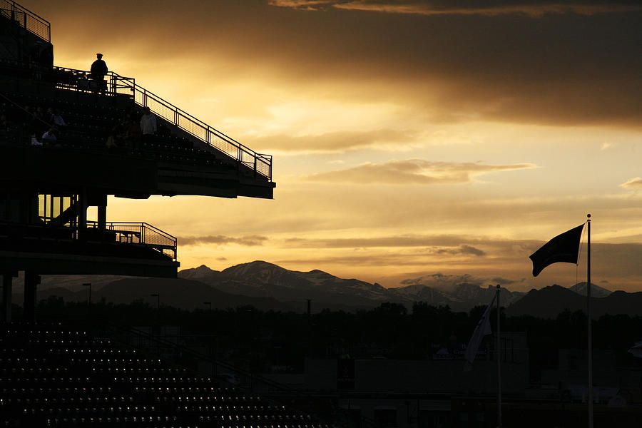 Americana Photograph - Best View Of All - Rockies Stadium by Marilyn Hunt