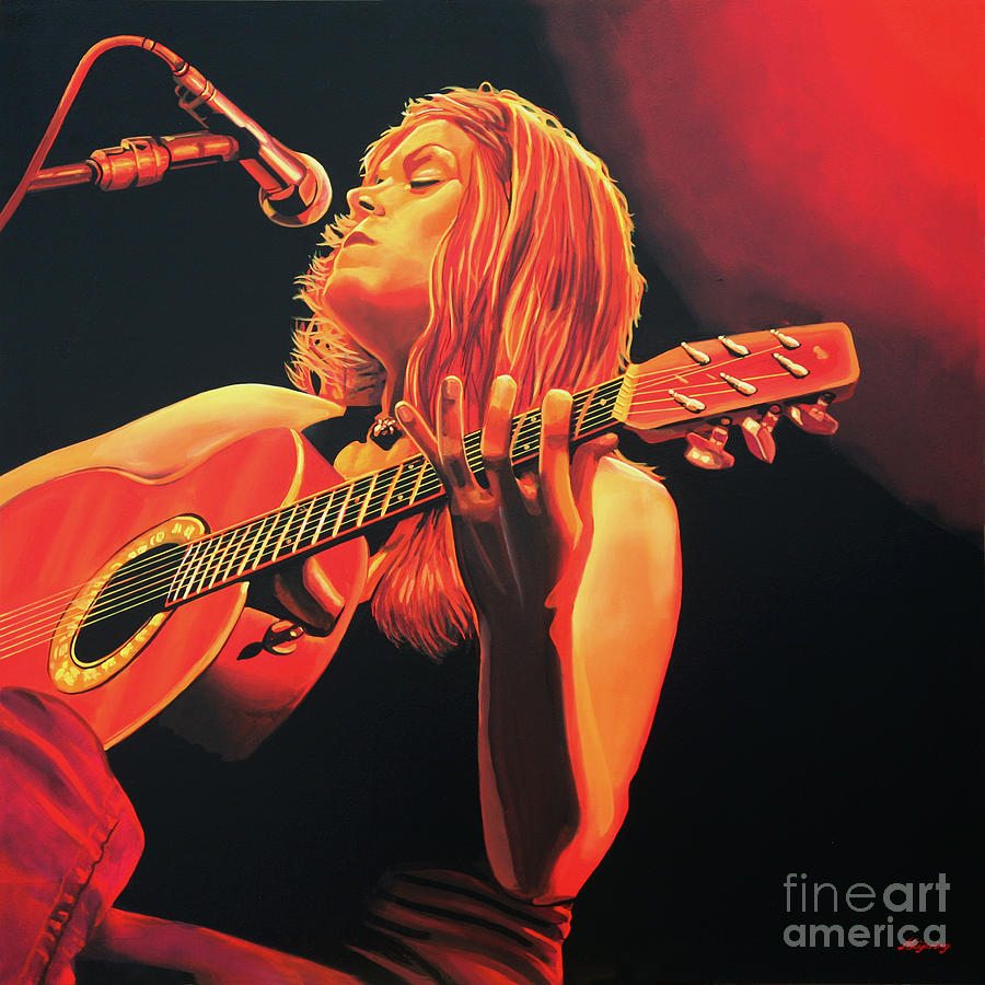 Beth Hart Painting - Beth Hart  by Paul Meijering