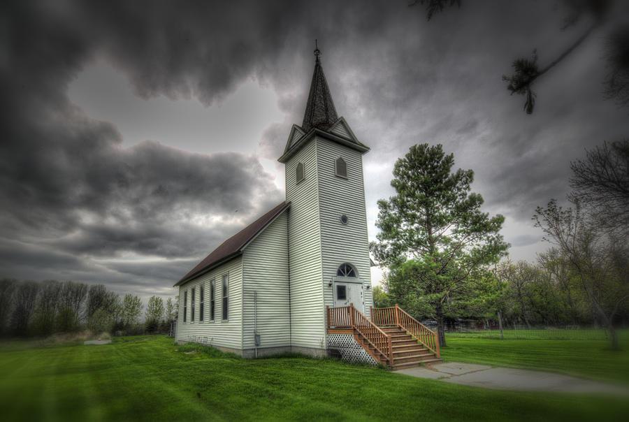 Wimbledon Photograph - Bethany Prairie Church by David Foster