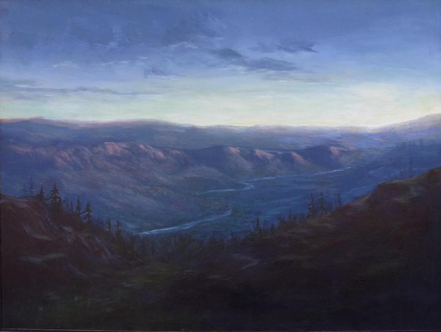 Sunrise Painting - Bethel Ridge Sunrise by Charles Smith