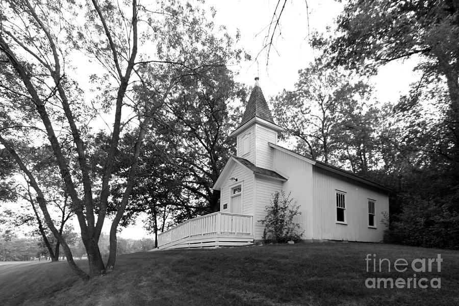 Bethel University Photograph - Bethel University Scandia Church by University Icons