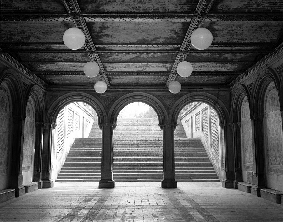 Bethesda Passage Central Park by Dave Beckerman