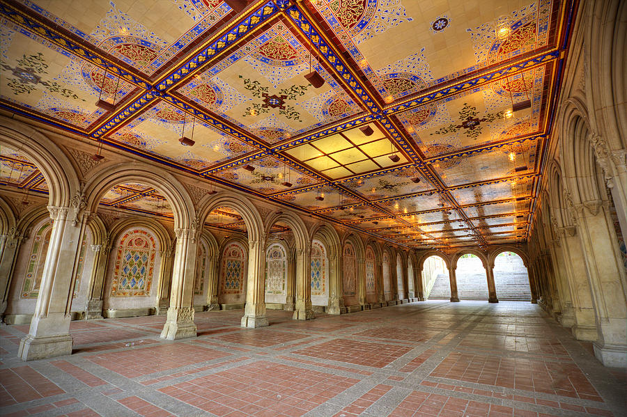 Bethesda Terrace At Central Park Photograph By Daniel