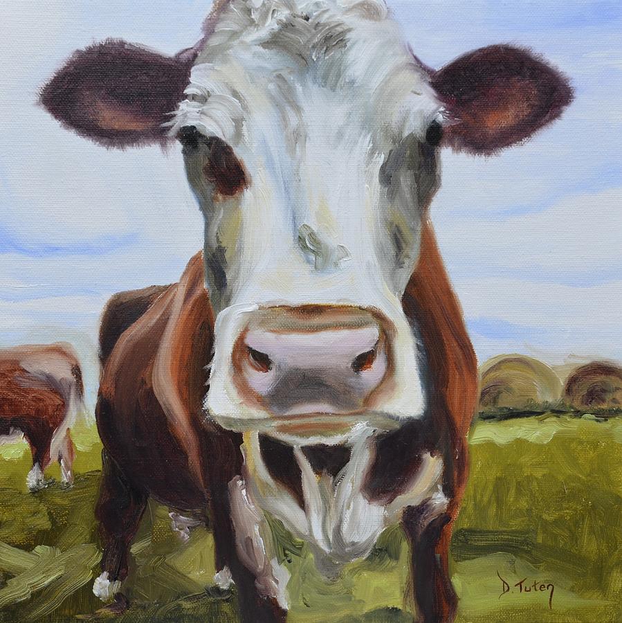 Donna Tuten Painting - Betsy by Donna Tuten