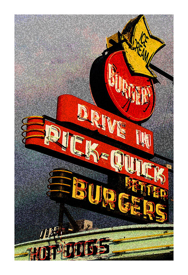 Tacoma Wa Photograph - Better  Burgers by Gail Lawnicki