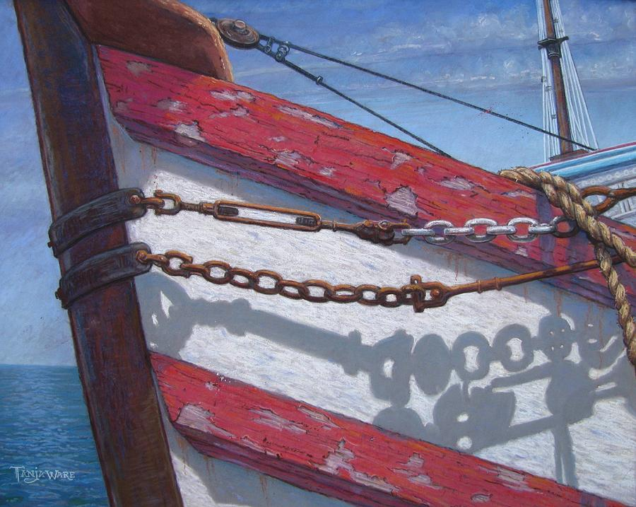 Marine Painting - Better Days by Tanja Ware
