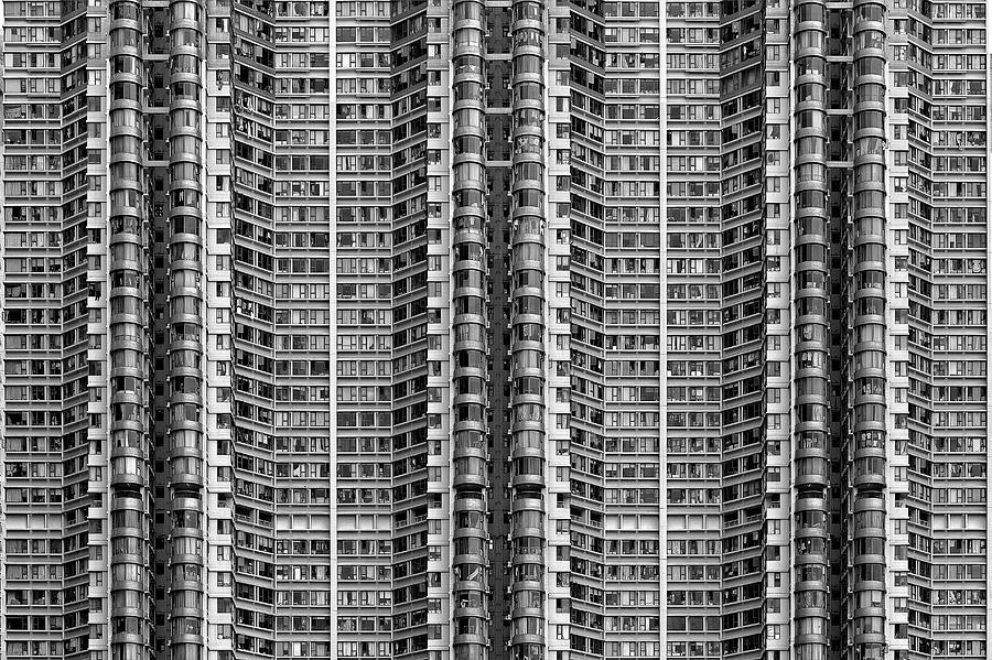 Architecture Photograph - Better Know Where Your Flat Is by Stefan Schilbe