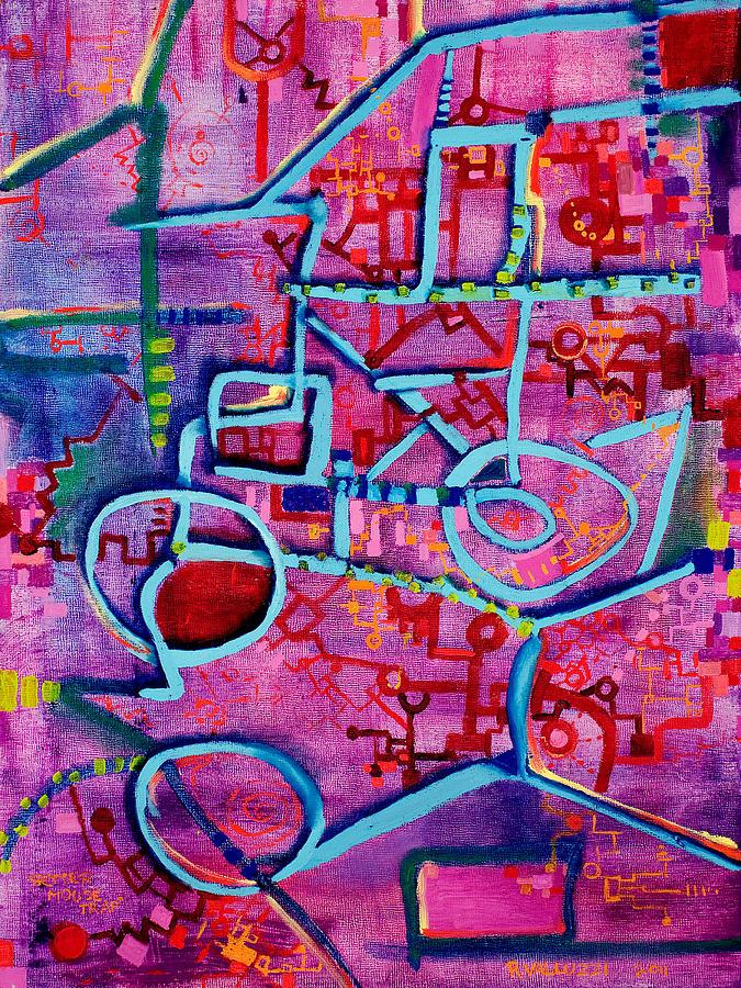 Mousetrap Painting - Better Mousetrap by Regina Valluzzi