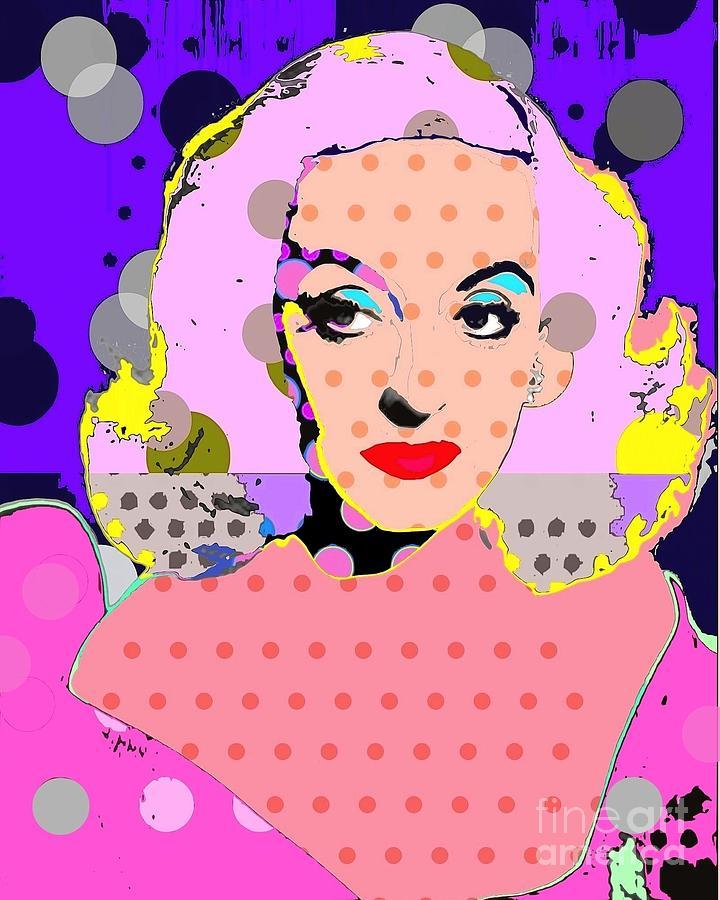 Betty Davis Digital Art - Betty Davis by Ricky Sencion