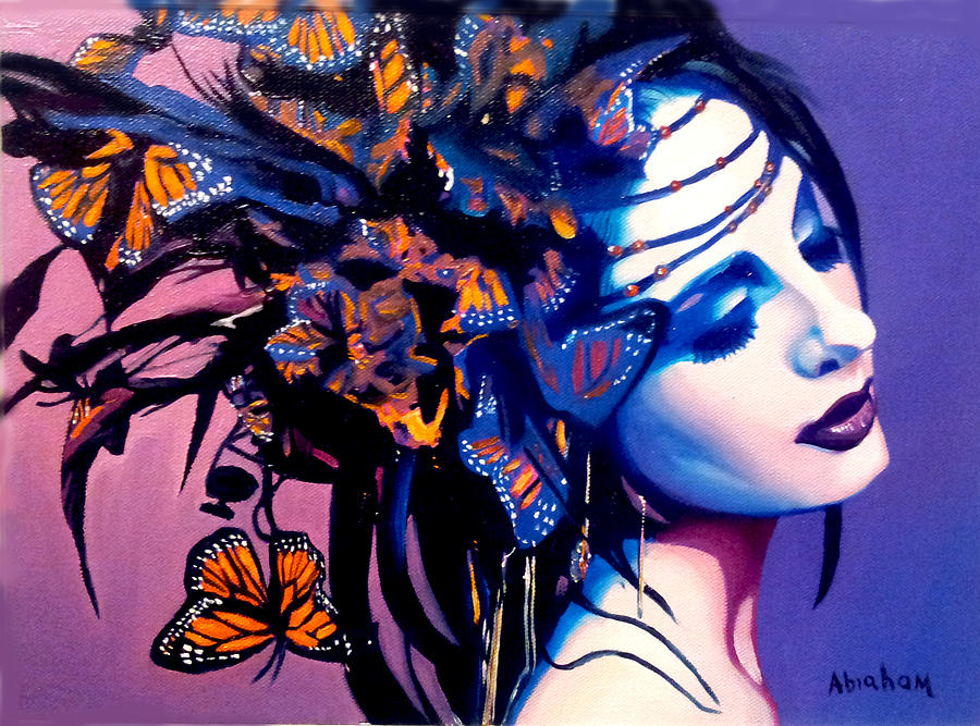 Butterflies Painting - Betty by Jose Manuel Abraham
