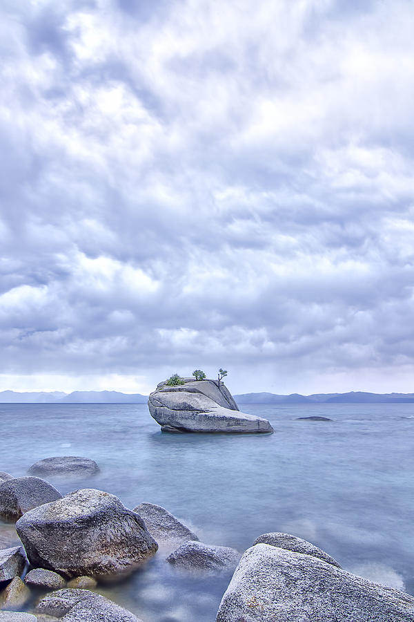 Tahoe Photograph - Between A Rock And A Busted Flip Flop by Wasim Muklashy