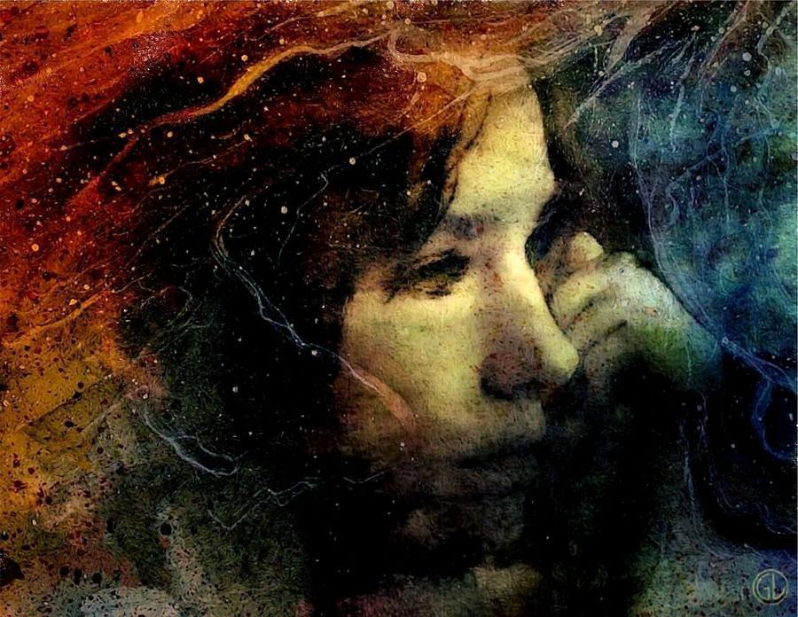 Woman Digital Art - Between Fire And Ice by Gun Legler