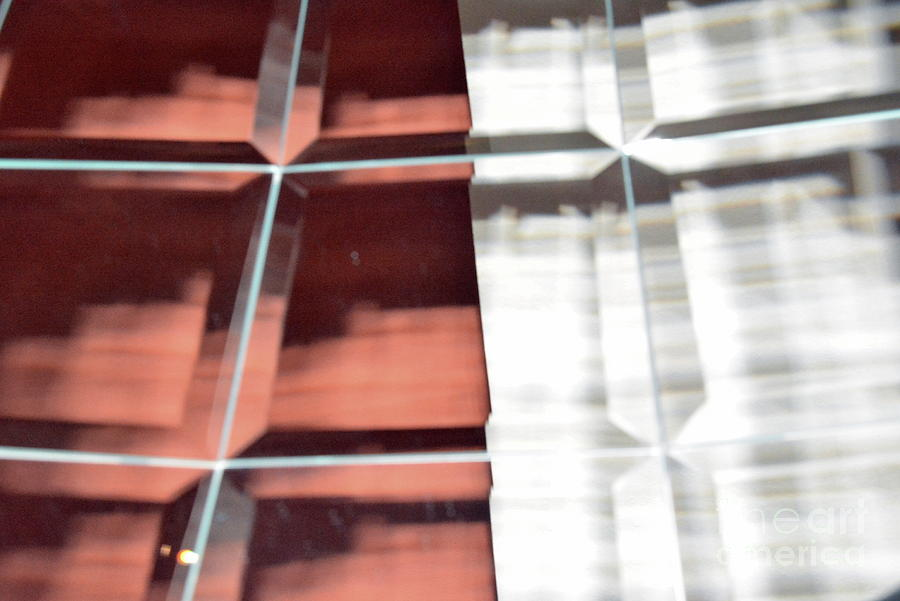 Abstract Photograph - Beveled Reflection 114h by Thomas Carroll