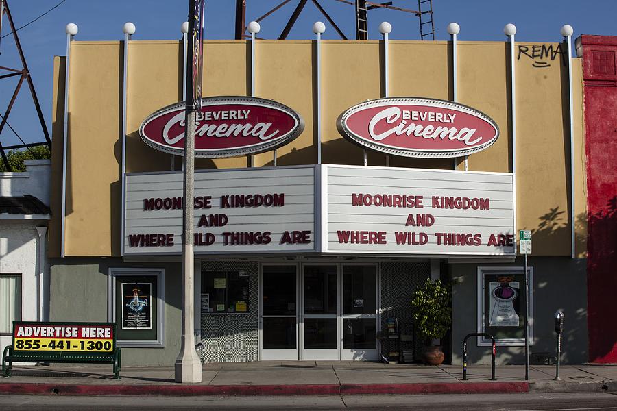 Movie Photograph - Beverly Wild Moonrise by Geoff Scott