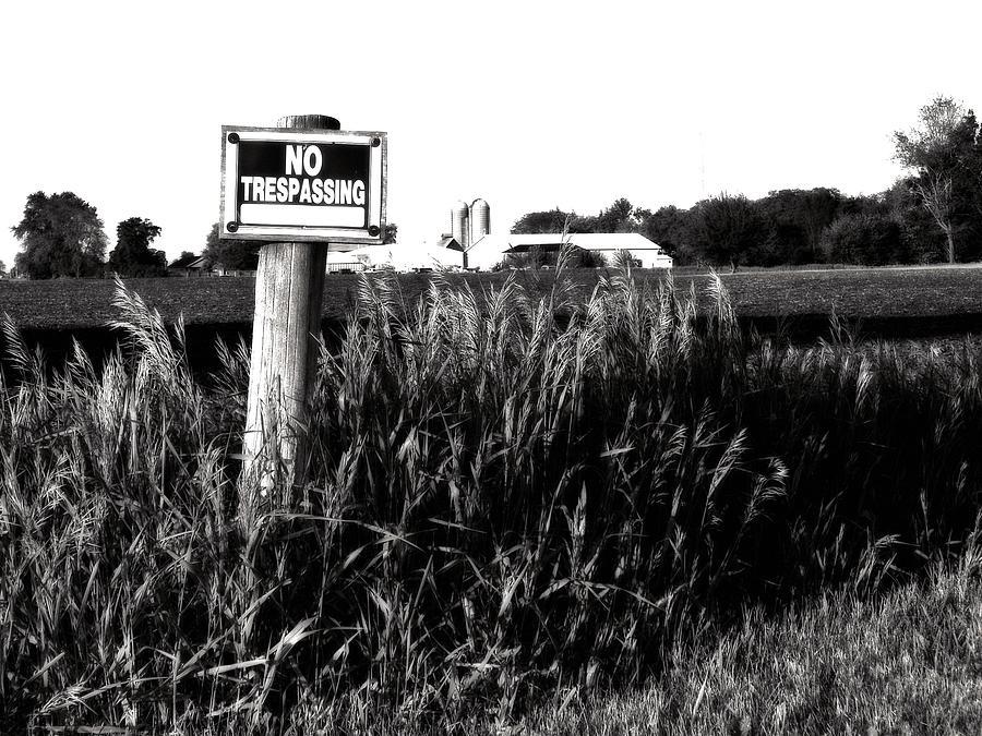 Landscape Photograph - Beware by Tom Druin