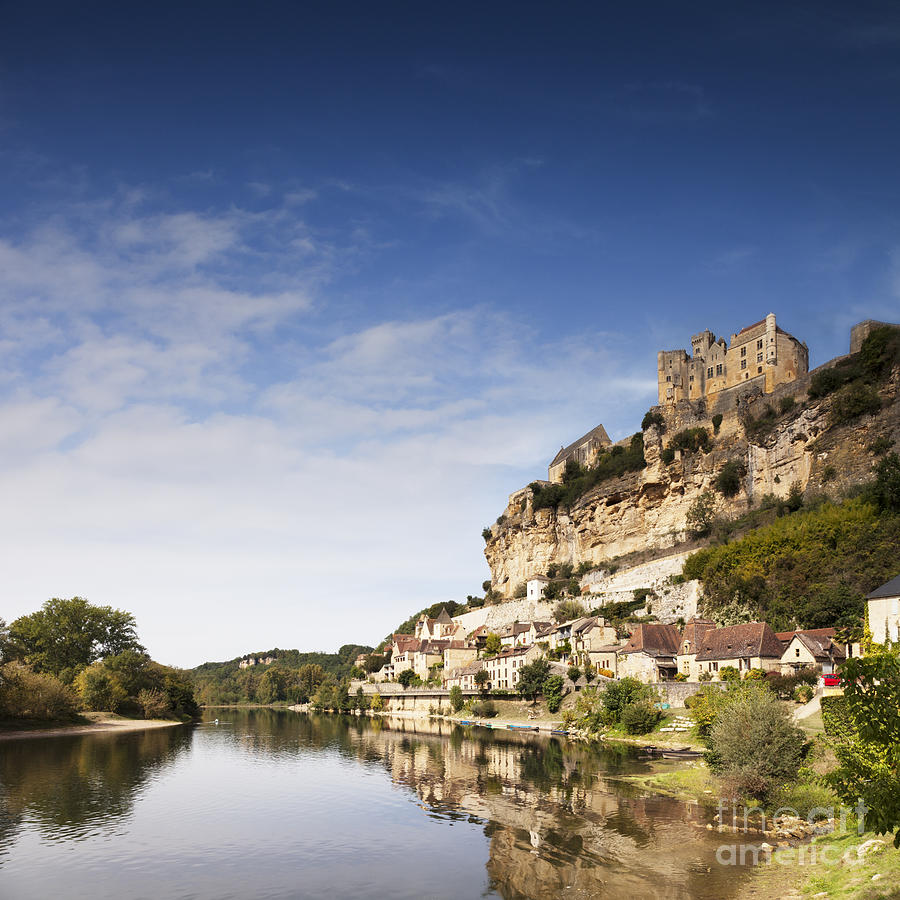 Aquitaine Photograph - Beynac Et Cazenac Limousin France by Colin and Linda McKie
