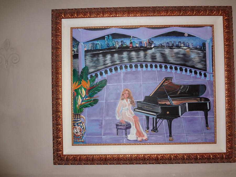 Beyonce Painting - Beyonce Aka Salsa Piers by Prince Whiting III