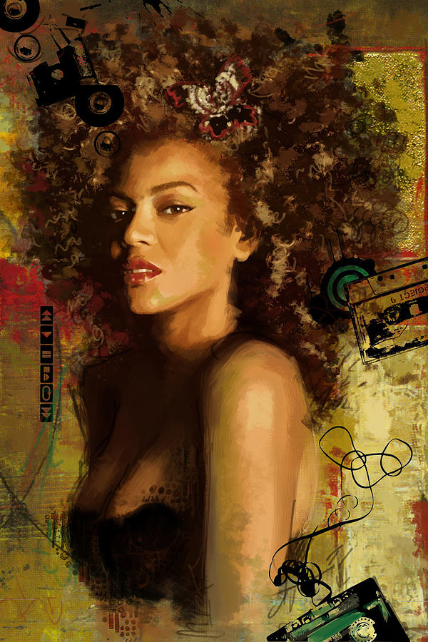 Beyonc Painting - Beyonce by Corporate Art Task Force