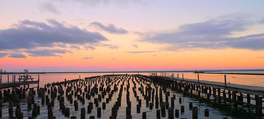 Sunset Photograph - Beyond  by Amanda St Germain