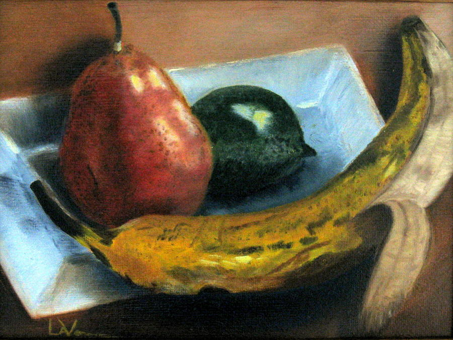 Banana Painting - Beyond Banana Nut Bread by LaVonne Hand