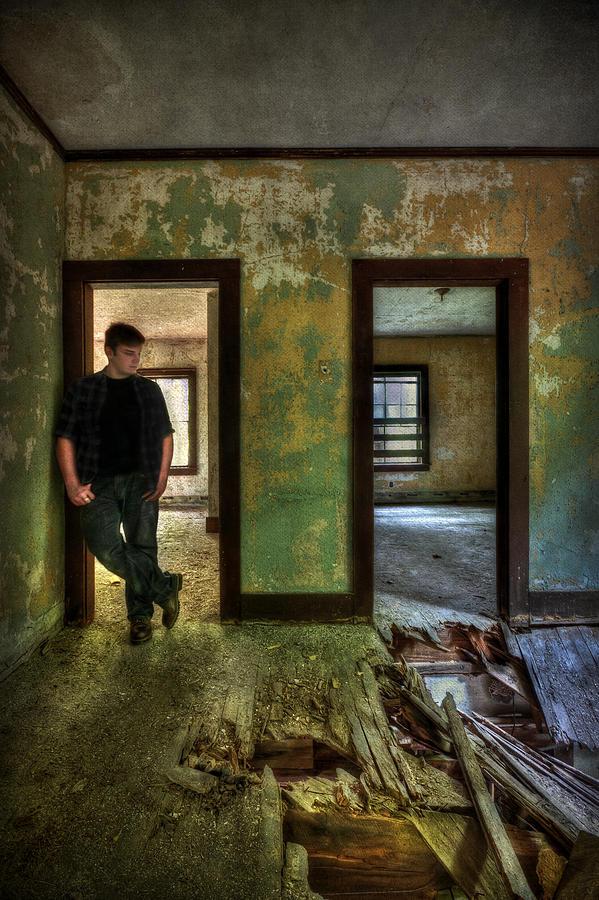 Abandon Photograph - Beyond Regrets Of The Past by Evelina Kremsdorf