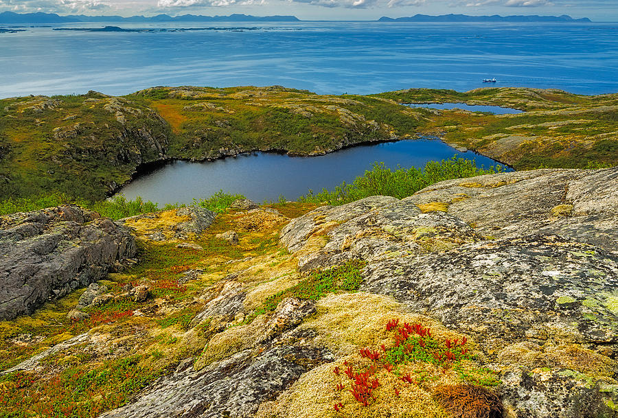Landscape Photograph - Beyond The Arctic Circle by Maciej Markiewicz