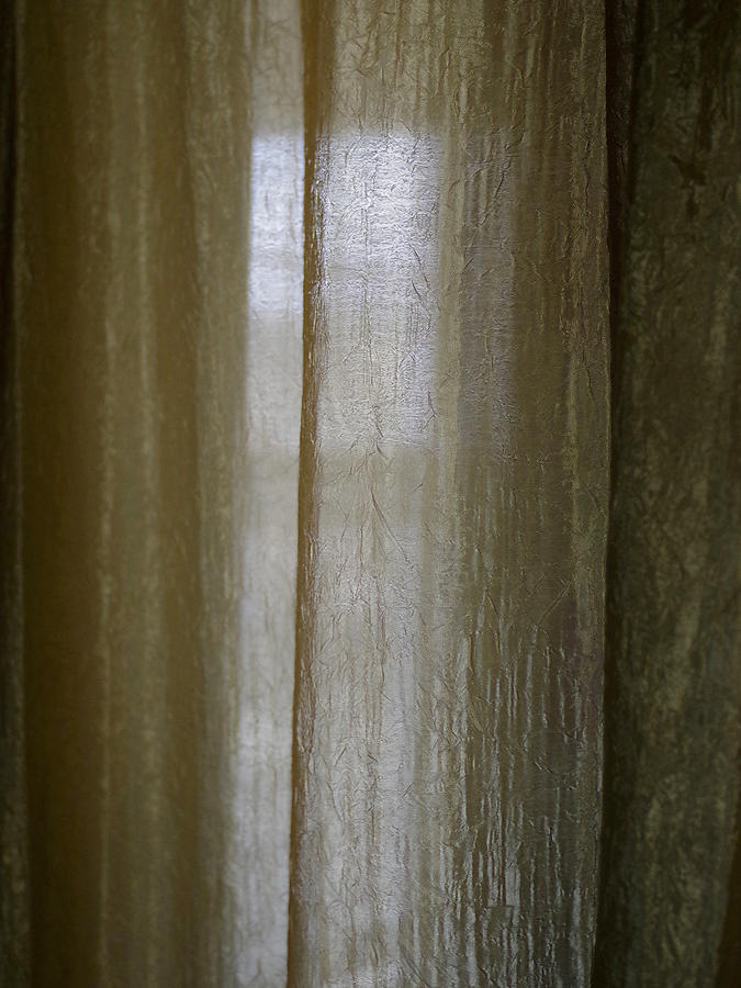 Beyond The Curtain Photograph by Joseph Hedaya