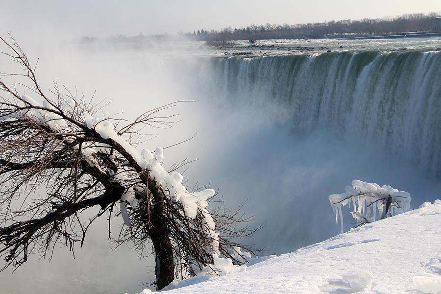 Beyond The Falls Photograph