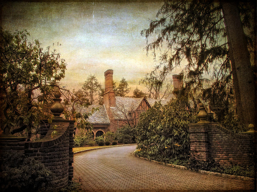 House Photograph - Beyond The Gates by Jessica Jenney