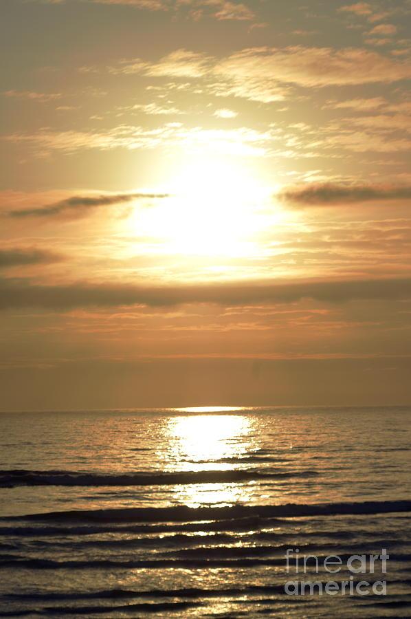 Beach Photograph - Beyond The Horizon by Sheldon Blackwell
