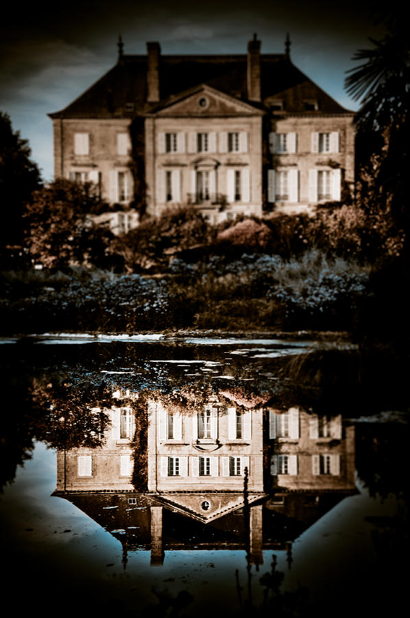 Photo Photograph - Beyond The Mirror by Loriental Photography