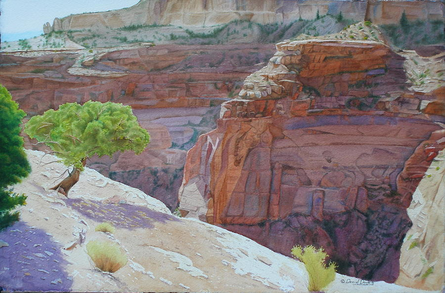 Beyond Time at Painted Rock by Daniel Dayley
